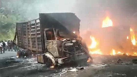 Dozens dead and several others seriously injured in a road accident