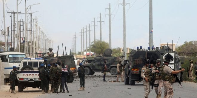 Soldiers in Somalia