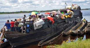 dozens dead on congo river