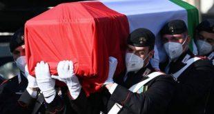 funeral of the italian ambassador