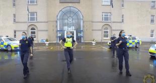 jerusalema dance by german police
