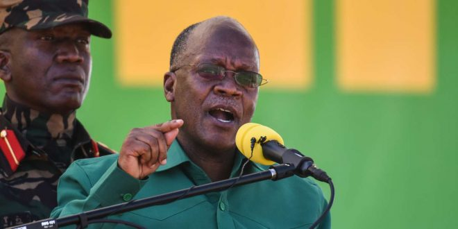 john magufuli confirms covid cases in the country
