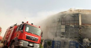 Clothing factory fire kills 20 in Egypt