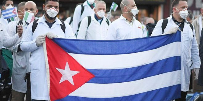 Cuban health workers provide aid in Mozambique