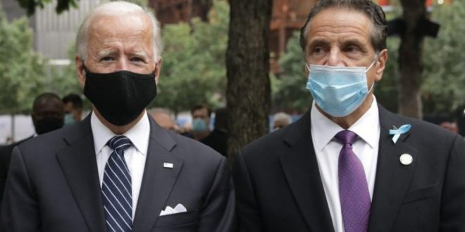 Joe Biden urges New York governor to step down if charges are upheld