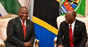 MAgufuli and Ramaphosa