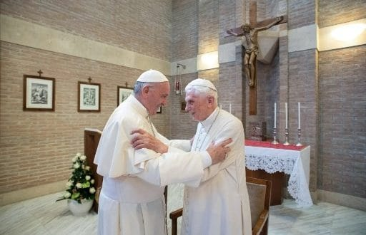 Pope francis and benedict