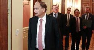 Russian ambassador will leave Washington on Saturday