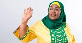 Samia Suluhu Hassan sworn in as Tanzanian new president