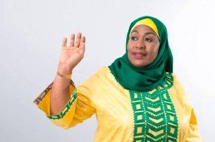 Samia Suluhu Hassan sworn in as Tanzanian new president