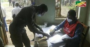 Security forces begin presidential election in Congo