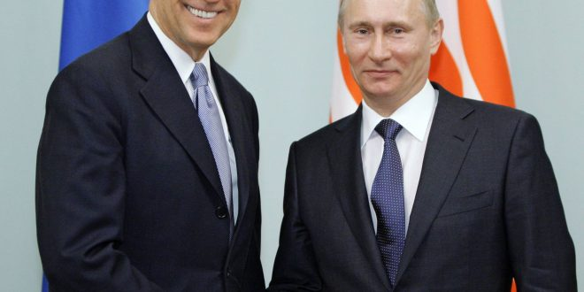 Vladimir Putin wants to discuss with Joe Biden in the coming days