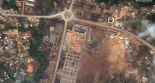 blasts explosion in Equato Guinea