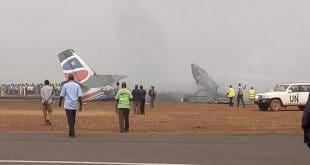 plane crash in sudan