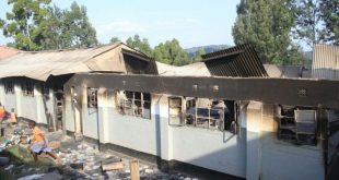 Kenya schoolboys 'burn dormitory over Liverpool match'