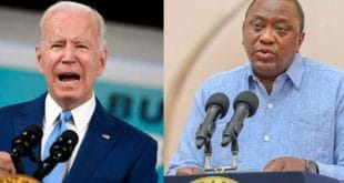 Kenyan president to be hosted by US president Joe Biden