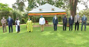 president Museveni meets UN envoy to Congo