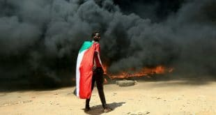 security forces fire live bullets at protesters in Sudan